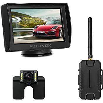 AUTO VOX M1W kabellose Rückfahrkamera mit 4,3 Zoll Monitor für 67,19€ (statt 96€)