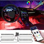 Govee LED Innenbeleuchtung mit App-Steuerung für das Auto für 14,94€ (statt 23€)