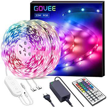 Govee 20m RGB LED Streifen inkl. Controller & Fernbedienung für 39,89€ (statt 57€)