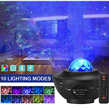 LED Sternenhimmel Projektor mit Bluetooth, 3 Stufen & Fernbedienung für 22,99€ (statt 46€)