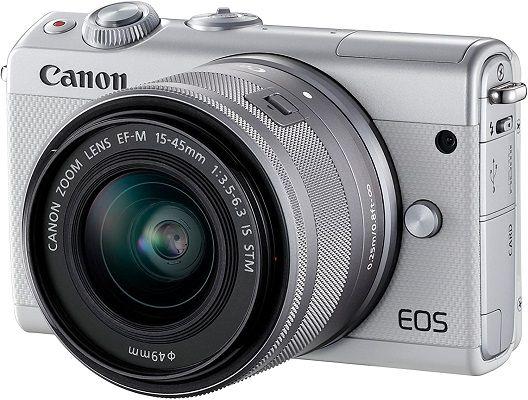 Canon EOS M100 mit 15 45mm Objektiv für 249€ (statt 332€)