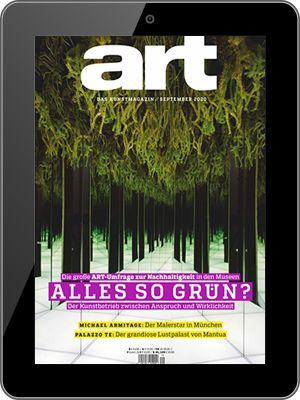 Jahresabo art Digital als E Paper für 1€ (statt 90€)