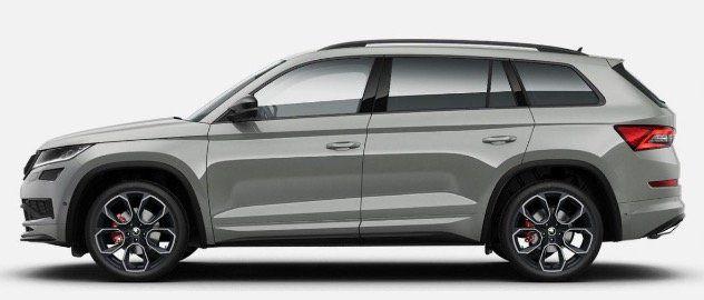 Gewerbe: Skoda Kodiaq RS Bi Turbo in Vollaustattung mit 240PS auf 20 Zoll für 387,94€ mtl   LF 0,68