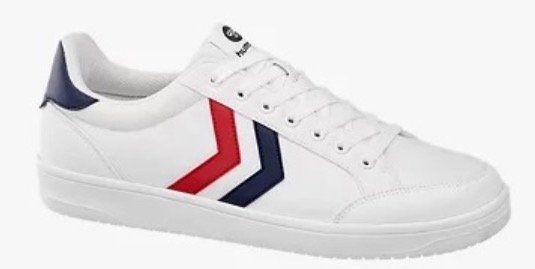 Hummel Herren Sneaker in Weiß oder in Blau (40 bis 46) für 23,95€ (statt 42€)