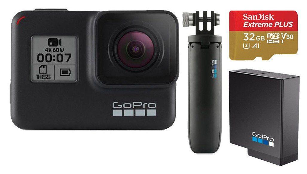 GoPro HERO7 Black Holiday Bundle ab 274€ (statt 319€)