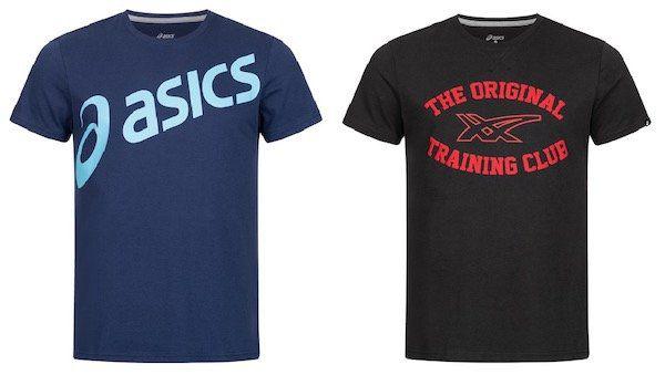Asics Herren Logo T Shirt für je 8,99€(statt 16€)