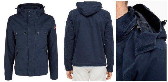 Auch im Sale 10% Extra Rabatt bei Tara M   z.B. s.Oliver Outdoor Jacke in Navy Blau für 44,99€ (statt 85€)