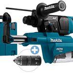 Makita HR2651TJ SDS+ Bohrhammer mit Staubabsaugung + selbstspannendes Bohrfutter für 185,90€ (statt 247€)