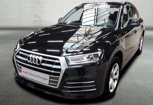 Gebraucht: Audi Q5 40 TDI Q S LINE mit 190 PS im Leasing für 299€ mtl.