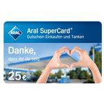 25€ Aral Supercard geschenkt für Reinigungskräfte im Krankenhaus oder in Pflegeheimen