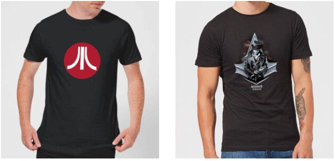 Gaming T Shirts (Sonic, Tetris, Assassins Creed etc.) für je 10,99€