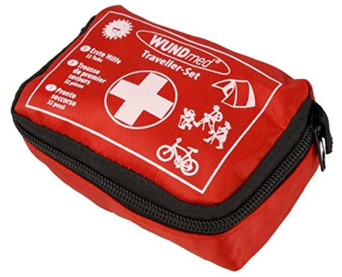 Wundmed Erste Hilfe Set 32 teilig im Etui mit Gürtelschlaufe für 3,95€ (statt 7€)   Prime