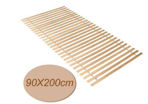 Wolketon Roll Lattenrost 90x200cm mit 28 Latten belastbar bis 150kg für 19,59€ (statt 28€)