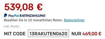 Rakuten 15 fache Superpunkte bei teilnehmenden Händlern   z.B. Ryobi Akku Bohrschrauber inkl. 2 Akkus für 92€ + 15,60€ Punkte (statt 105€)
