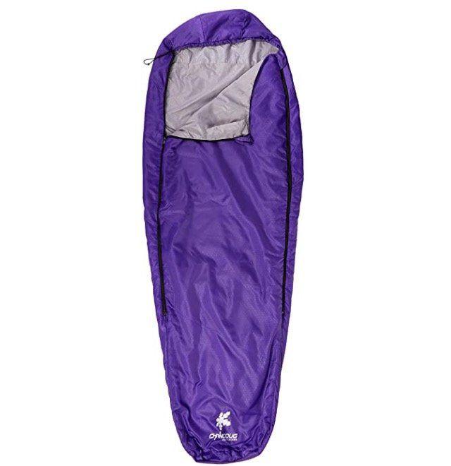 Kounga Sleeping Bag Roraima Schlafsack in Violet für 14,99€ (statt 25€)