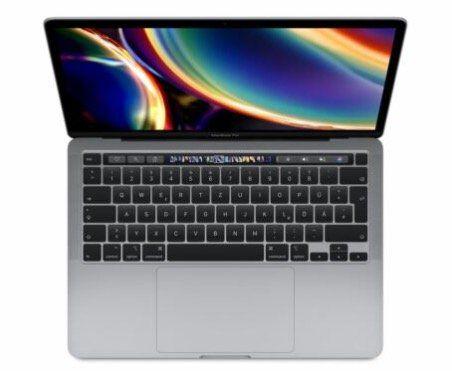 Apple MacBook Pro 13″ (2020) mit Core i5, 512GB SSD & 16GB Ram für 1.249,90€ (statt 1.449€)