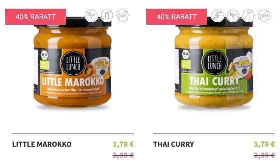 Little Lunch Sommer Sale bis  40%   Suppen ab 1,79€ + keine VSK ab 35€