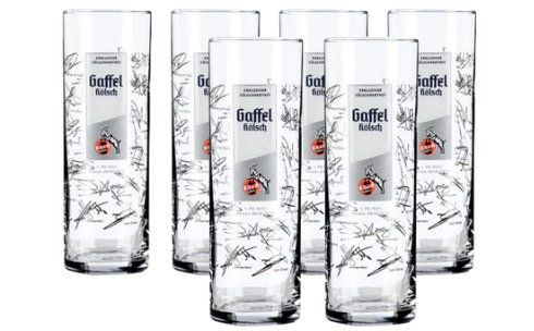 Saisonendspurt Sale beim 1. FC Köln   z.B. 6er Pack FC Gaffel Kölsch Gläser für 9,95€