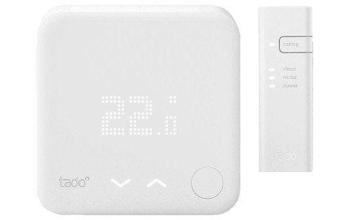 Tado Starter Kit aus Smart Thermostat V3 und Internet Bridge für 70,98€ (statt 156€)