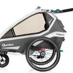 Qeridoo KidGoo1 (2020) Kinderfahrradanhänger mit BDS-Federung für 496,79€ (statt 540€)