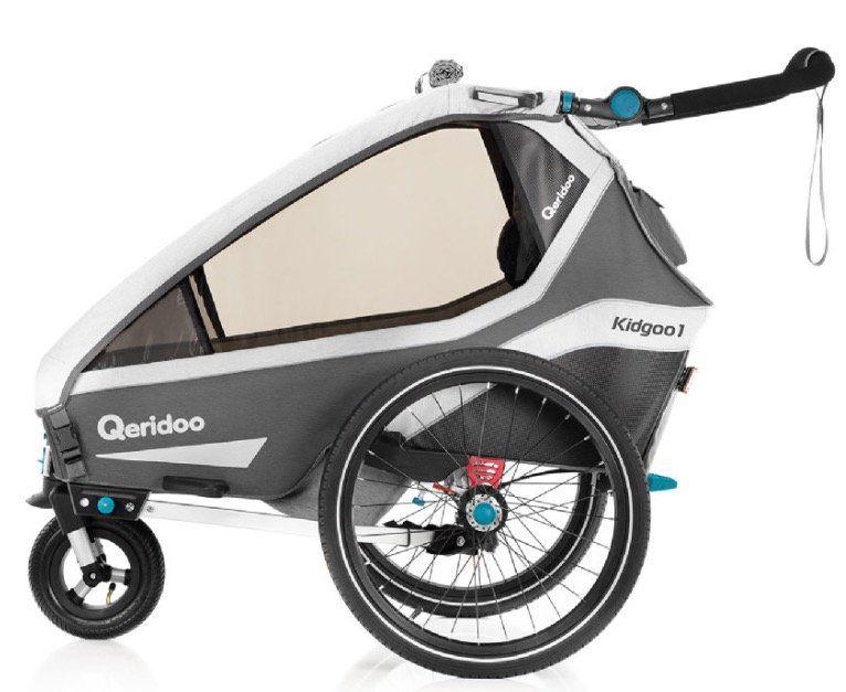 Qeridoo KidGoo1 (2020) Kinderfahrradanhänger mit BDS Federung für 496,79€ (statt 540€)