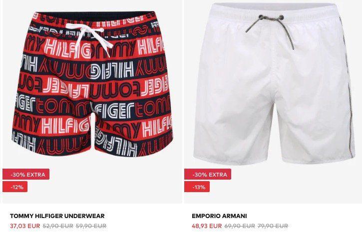 About You mit bis 30% Rabatt auf Bademode   z.B. Hugo Boss Shorts für 37€(statt 46€)
