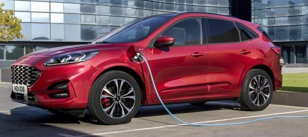 Gewerbe: Ford Kuga Phev Titanium Hybrid mit 224PS für 63,94€ netto   LF 0,29