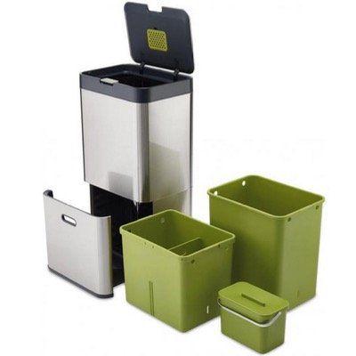 Joseph Joseph IntelligentWaste Totem 60 Abfallbehälter für 159€ (statt 202€)