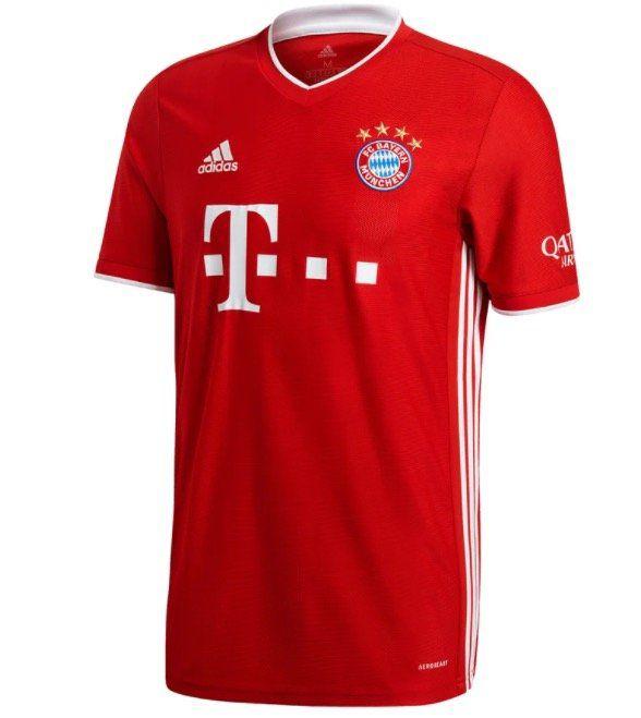 FC Bayern München Herren Heim Trikot 2020/21 für 67,45€(statt 90€)