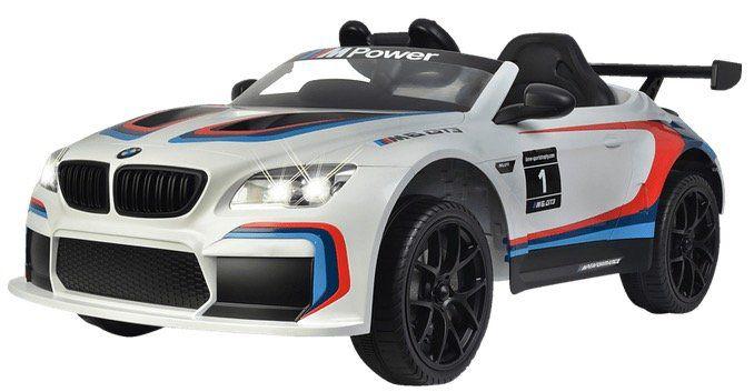 Kinder Elektrofahrzeug Jamara BMW M6 GT3 in Weiß ab 206,99€ (ab 273€)