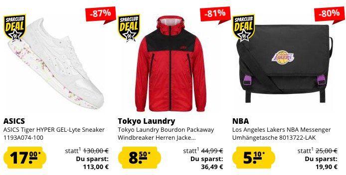 Schnell! 🔥 SportSpar Restgrößen Sale   z.B. Asics Tiger HYPER GEL Lyte Sneaker für 22,50€ (statt 59€)