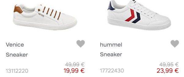Deichmann Mega Sale mit bis zu 50% Rabatt   günstige Schuhe und Taschen für Damen, Herren & Kinder