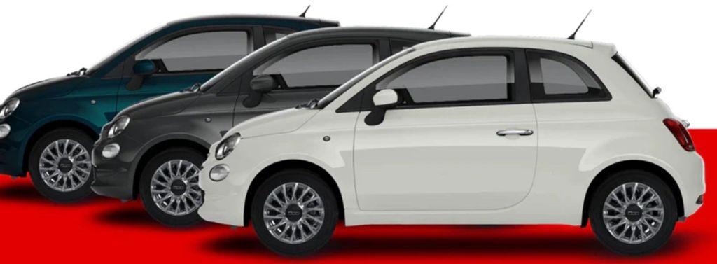 FIAT 500 1.0 GSE N3 Hybrid Lounge Limousine mit 70PS für 99€ mtl. (Privat Leasing)