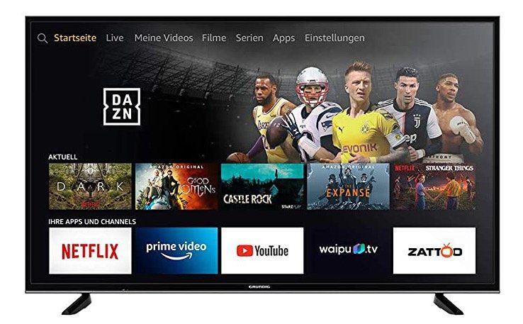 Grundig 55 VLX 7010   55 Zoll UHD Fernseher Fire TV Edition für 319€ (statt 390€)   oder 65 Zoll für 489€
