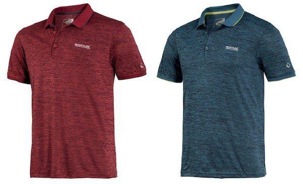 2er Pack Regatta Herren Funktions Poloshirts (sehr leicht, atmungsaktiv) für 37,48€ (statt 48€)