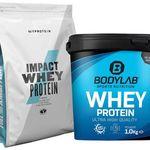 2kg Bodylab Whey Protein (Ananas oder S'Mores) + 1kg Myprotein Impact Whey Protein (8 Sorten) für 26,89€ – MHD 30.06.