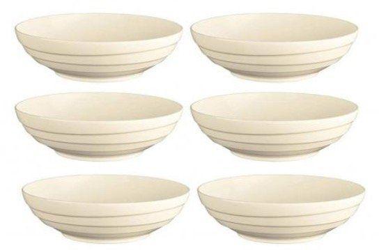 6er Jamie Oliver Waves Set mit 21 cm runden Schüsseln aus Keramik Porzellan für 19,99€ (statt 40€)