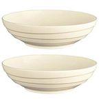 6er Jamie Oliver Waves Set mit 21 cm runden Schüsseln aus Keramik-Porzellan für 19,99€ (statt 40€)