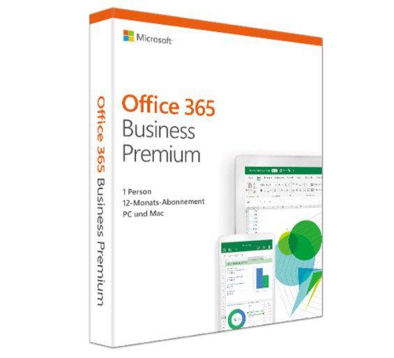 Microsoft Office 365 Business Premium (bis zu 15 Geräte) für 59€ (statt 89€)