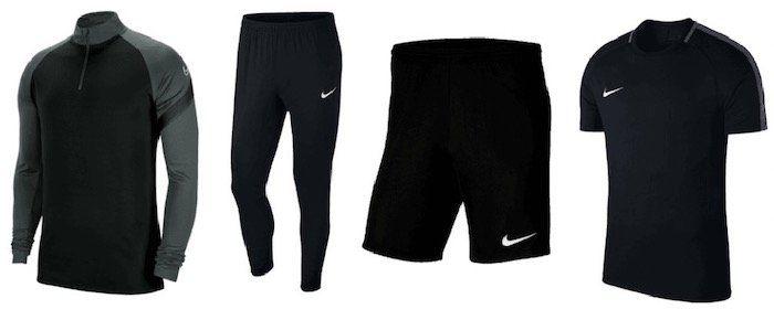 Nike Trainingsset Academy 4 teilig (Oberteil, Hose, Shirt und Short) für 56,95€ (statt 77€)