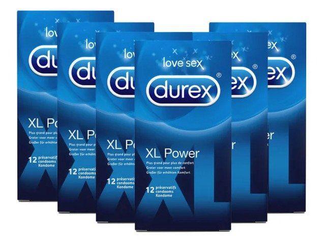 Günstige Durex Kondome bei iBood   z.B. 72x Durex XL Power für 34,90€ (statt 55€)
