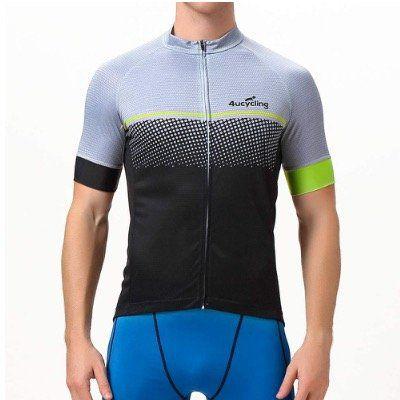 4Ucycling Kurzarm Fahrradtrikots für Herren in unterschiedlichen Farben ab 5,39€ (statt 27€)   Prime
