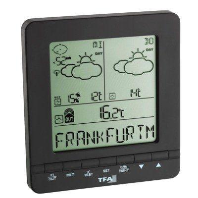 TFA Dostmann Meteotime Easy Wetter Info Center für 29,99€ (statt 50€)
