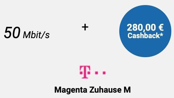 Telekom Magenta Zuhause M mit 50 Mbit/s ab eff. 19,11€ mtl. + 100€ Bonus