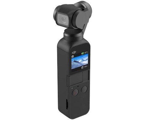 DJI Osmo Pocket 3 axis gimbal for 235.90 € (instead of 259 €)