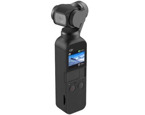 DJI Osmo Pocket 3-Achsen Gimbal + Unterwassergehäuse für 209€ (statt 274€)