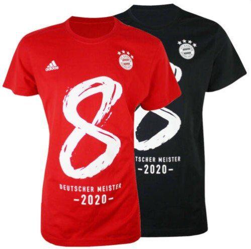 adidas Bayern München 8mal Deutscher Meister 2020 T Shirt für 22,49€ (statt 30€)
