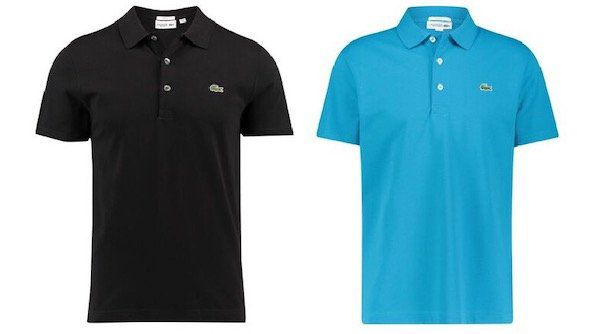 2er Pack Lacoste Poloshirt in Slim Fit für 81,62€ (statt 98€)