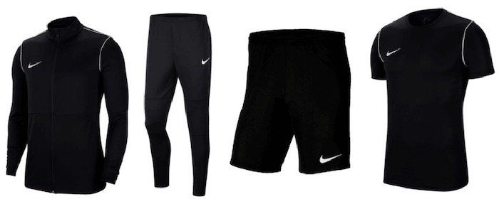 Nike Park 20 Trainings Set (Jacke, Hose, Shirt, Short) für 46,90€ (statt 57€)