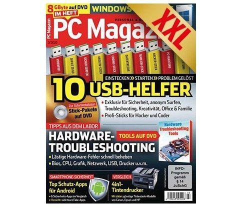 Gratis! 3 Ausgaben PC Magazin Classic DVD XXL komplett ohne Zahlung